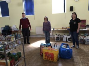 Club members donate to Exmouth Community Larder